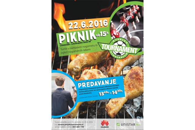Predavanje, turnir in piknik